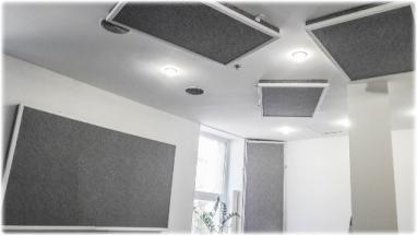 Улучшение акустических характеристик помещения