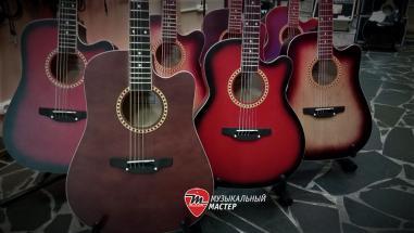Поступление акустических гитар Трембита в Магазин