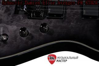 Гитара Schecter Damien Elite Avenger-FR STBLK