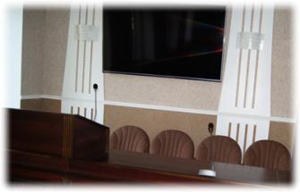 Оборудование конференц-зала 7-го родильного дома г. Харьков.