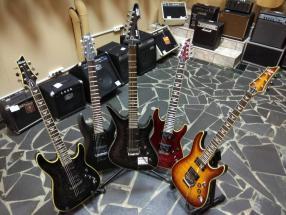 Новое пополнение гитар от компании Schecter