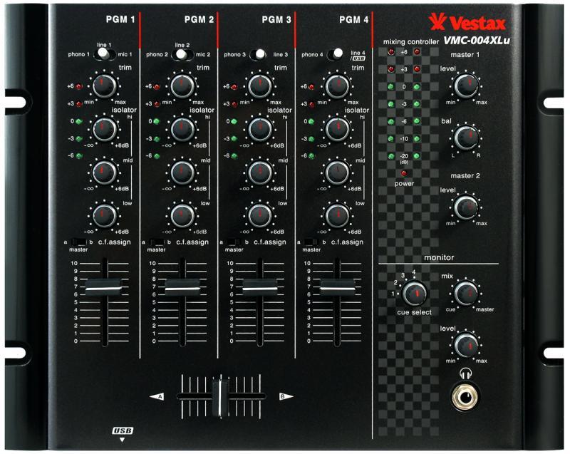 VMC-004 Fxu BLK / DJ микшеры, Музыкальный Мастер