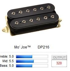 DP216BK MO' JOE / Звукосниматели, Музыкальный Мастер