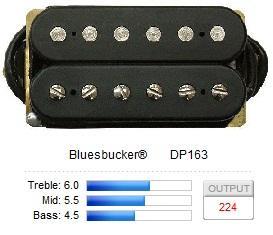 DP163BK BLUESBUCKER / Звукосниматели, Музыкальный Мастер