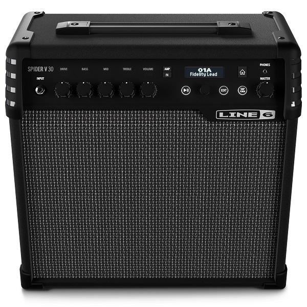 SPIDER V 30 / Комбоусилители для электро гитар, Музыкальный Мастер