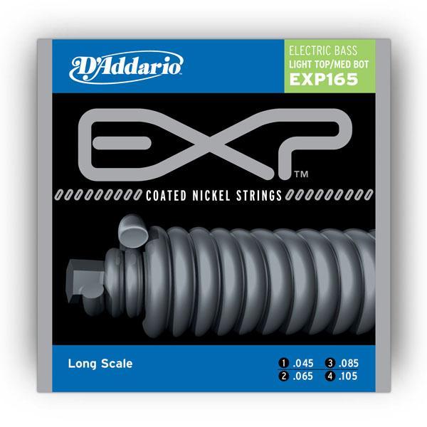 EXP165 EXP LIGHT TOP / MED BOTTOM 45-105 / Струны Для бас гитар, Музыкальный Мастер
