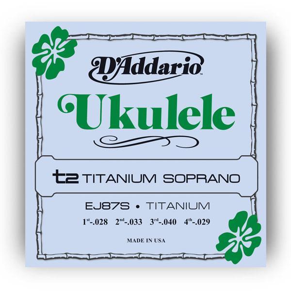 EJ87S TITANIUM UKULELE SOPRANO / Струны Для других инструментов, Музыкальный Мастер