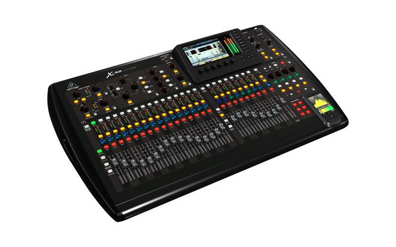 X32 цифровой  микшерный пульт / Цифровые микшерные пульты, Музыкальный Мастер