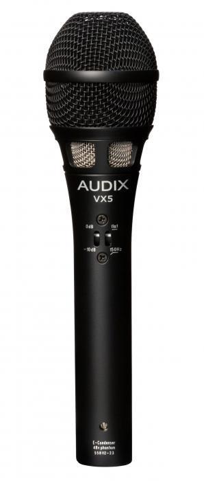 VX5 Ручной конденсаторный микрофон вокальный / Вокальные и речевые микрофоны, Музыкальный Мастер