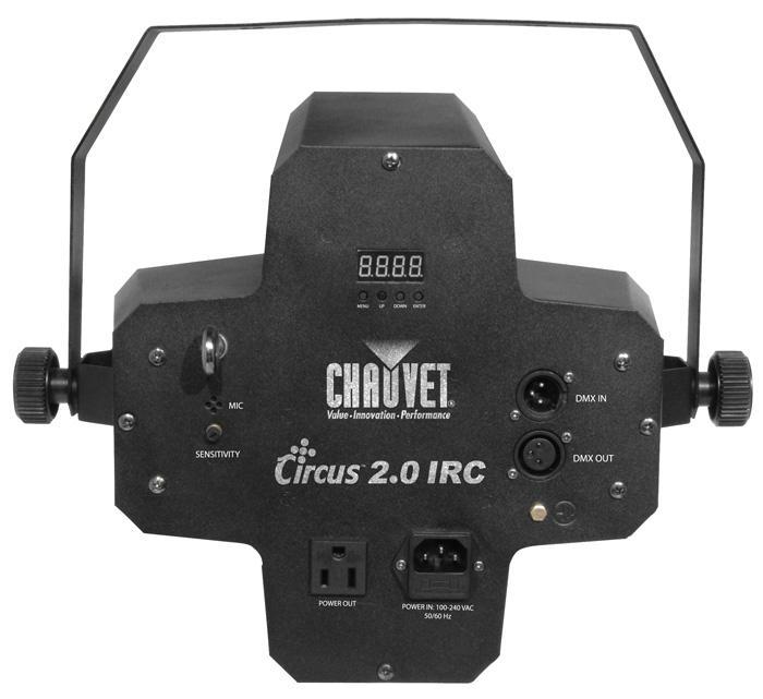 CIRCUS 2.0 IRC / Световые эффекты для дискотек и клубов, Музыкальный Мастер