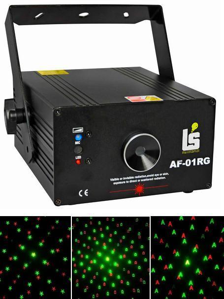Light Studio LS-AF01RG лазер с большим количеством анимации