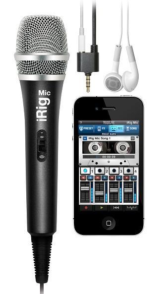 iRIG MIC конденсаторный микрофон для iPhone, iPod touch, iPad / Вокальные и речевые микрофоны, Музыкальный Мастер