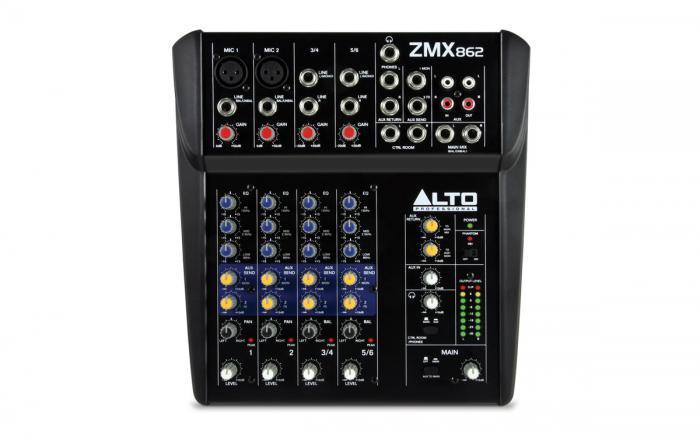 ZMX862 / Аналоговые микшерные пульты, Музыкальный Мастер