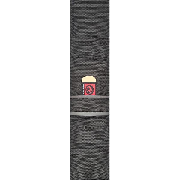PW74T000 Bass Guitar Strap with Pad, Black / Ремни для гитар, Музыкальный Мастер