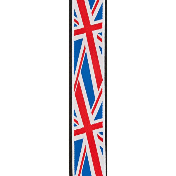 PW50A11 Woven Guitar Strap, Union Jack / Ремни для гитар, Музыкальный Мастер