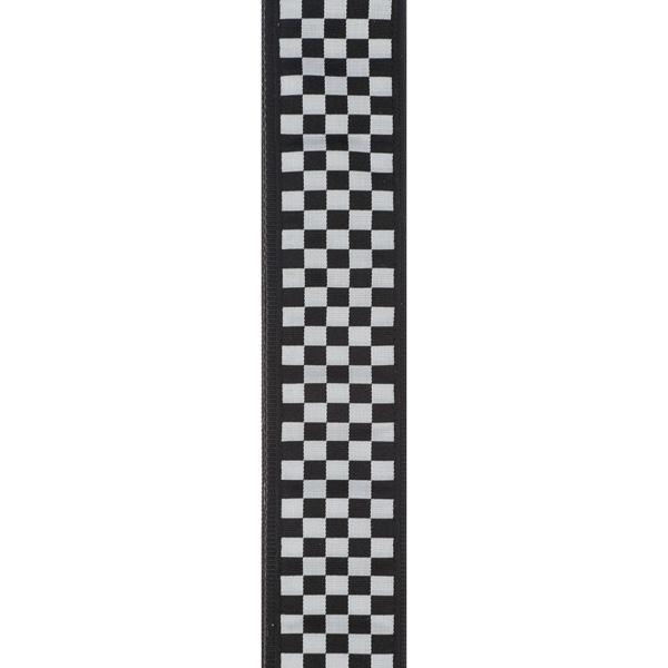PW50C02 Woven Guitar Strap, Check Mate / Ремни для гитар, Музыкальный Мастер