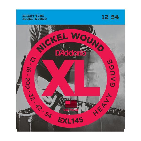EXL145 XL HEAVY (12-54) / Струны Для электро гитар, Музыкальный Мастер