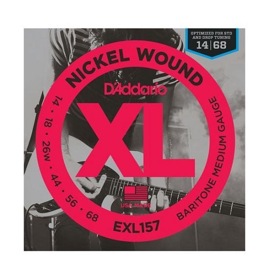 XL157 XL BARITONE MEDIUM (14-68) / Струны Для электро гитар, Музыкальный Мастер