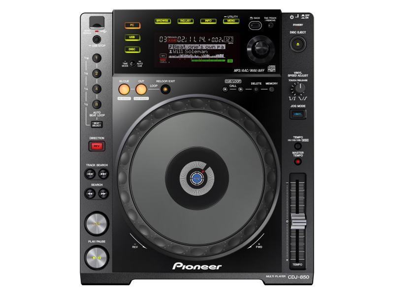 CDJ-850 / Проигрыватели CD/MP3/DVD, Музыкальный Мастер