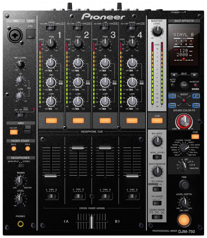 DJM-750 / DJ микшеры, Музыкальный Мастер