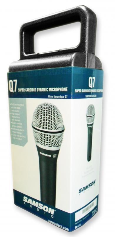 Q7  - Ручной динамический микрофон / Вокальные и речевые микрофоны, Музыкальный Мастер