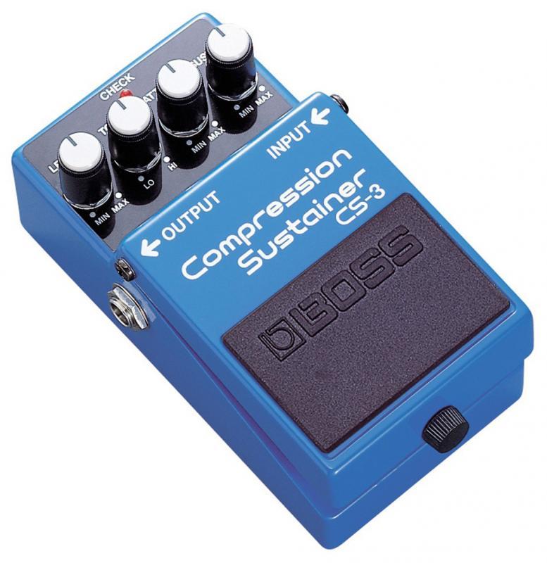 CS-3 Compression Sustainer / Гитарные педали эффетов, Музыкальный Мастер