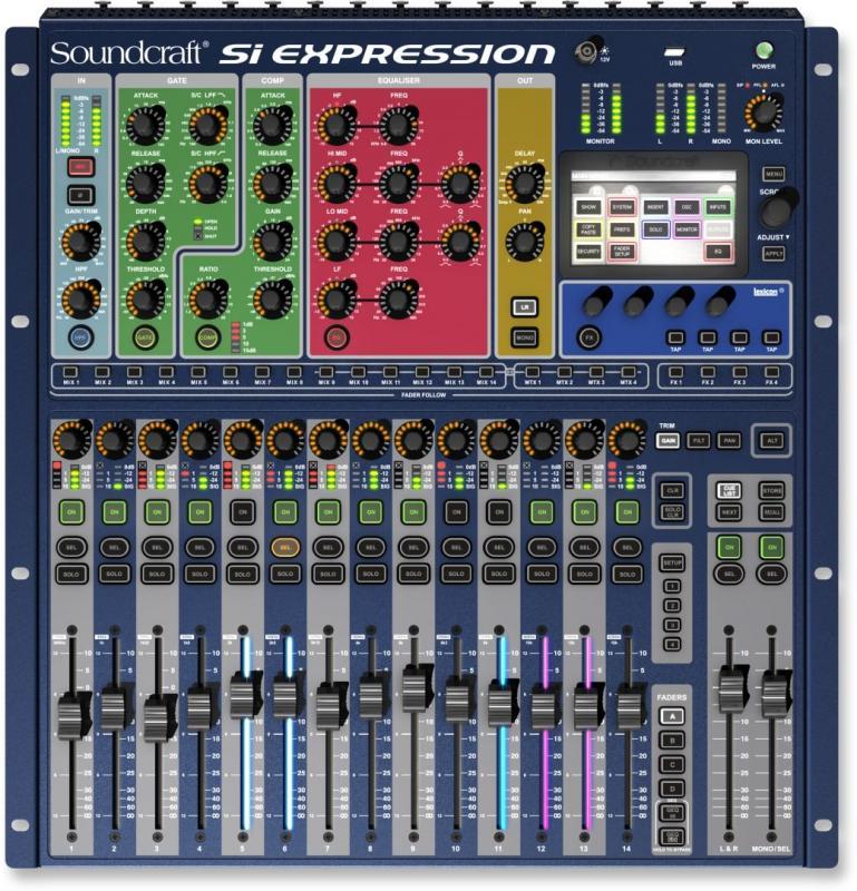 Si Expression 1 цифровой  микшерный пульт / Цифровые микшерные пульты, Музыкальный Мастер