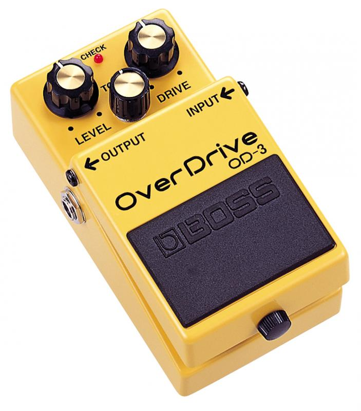 OD-3 OverDrive / Гитарные педали эффетов, Музыкальный Мастер