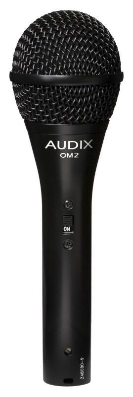 OM2S микрофон динамический вокальный / инструментальный / Вокальные и речевые микрофоны, Музыкальный Мастер
