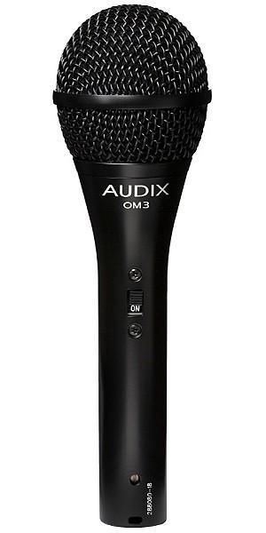 OM3S микрофон динамический вокальный / инструментальный / Вокальные и речевые микрофоны, Музыкальный Мастер