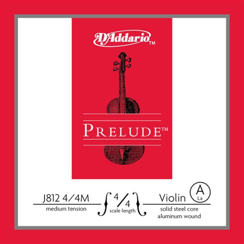 J812 4/4M Prelude A 4/4M / Струны для смычковых, Музыкальный Мастер