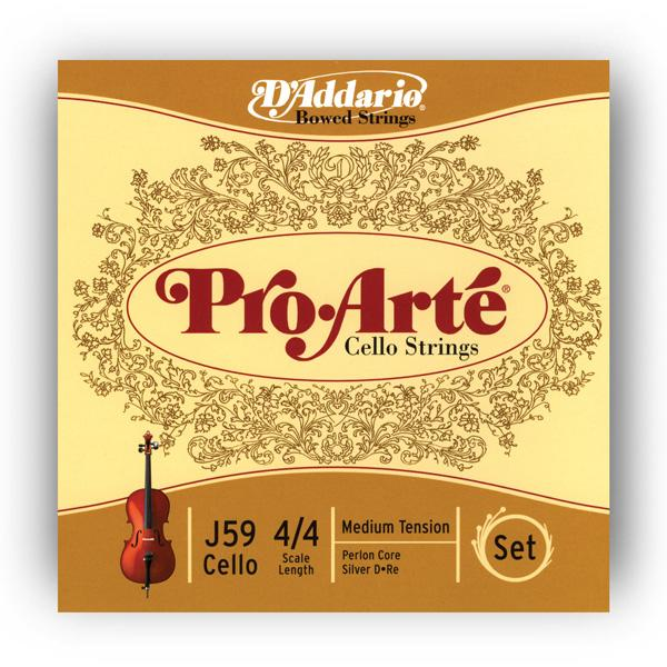 J59 4/4M Pro Arte 4/4M / Струны для смычковых, Музыкальный Мастер