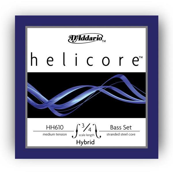 HH610 3/4M Helicore Hybrid 3/4M / Струны для смычковых, Музыкальный Мастер