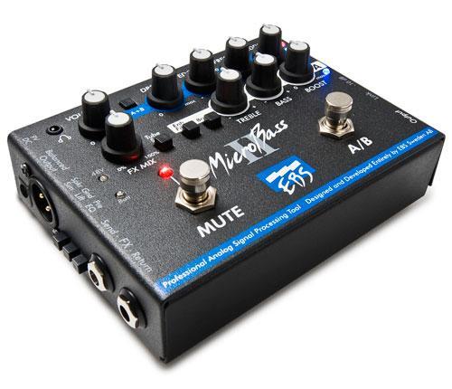 MicroBassII двухканальный басовый преамп/директ-бокс / Басовые педали эффектов, Музыкальный Мастер