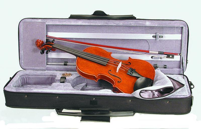 1550/A CONSERVATOIRE VIOLIN OUTFIT 4/4 скрипка в комплекте / Скрипки, Музыкальный Мастер
