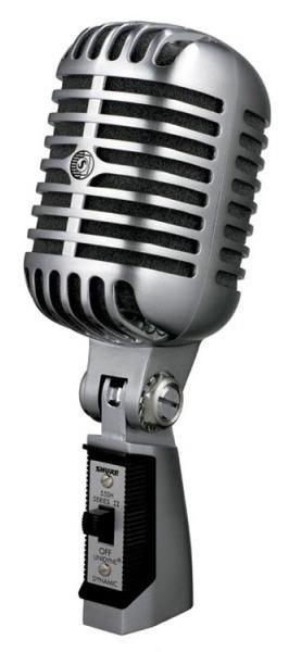 55SH SERIES II динамический вокальный с выключателем, в классическом стиле / Вокальные и речевые микрофоны, Музыкальный Мастер