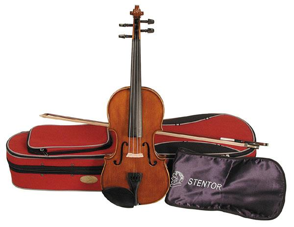 1500/I STUDENT II VIOLIN OUTFIT 1/16 скрипка в комплекте / Скрипки, Музыкальный Мастер