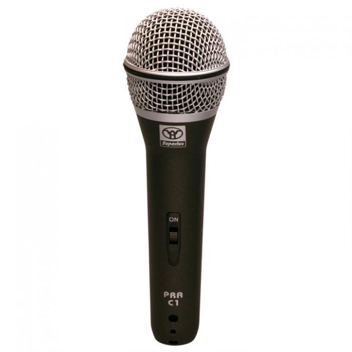 PRAC1 микрофон динамический вокальный / Вокальные и речевые микрофоны, Музыкальный Мастер