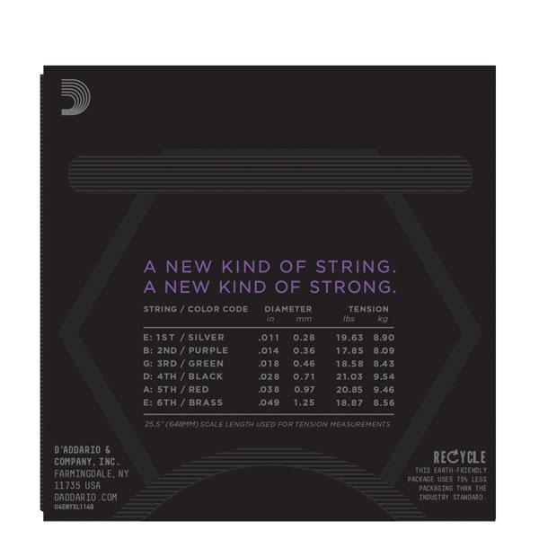 NYXL1149 MEDIUM (11-49) / Струны Для электро гитар, Музыкальный Мастер