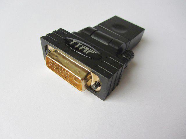 HDMI-DVI Connector 24K Gold 96138 / Переходники и адаптеры Hi-Fi, Музыкальный Мастер