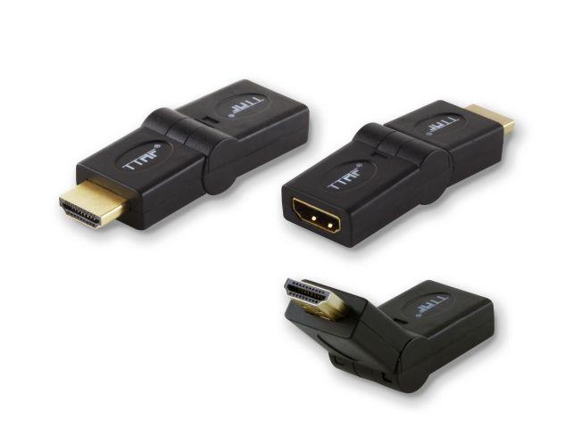HDMI Male - HDMI Female Adapter 90 - 180 Degree 96137 / Переходники и адаптеры Hi-Fi, Музыкальный Мастер