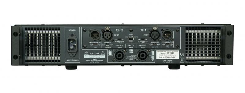 CF2400 / Усилители мощности, Музыкальный Мастер