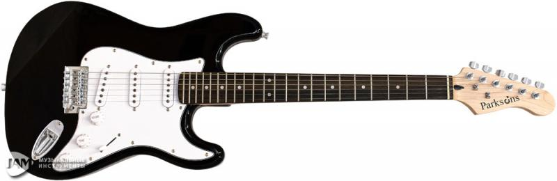ST-150 BK Электрогитара / Электрогитары, Музыкальный Мастер