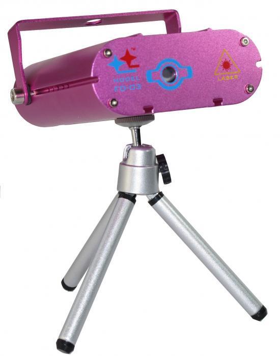 FD-03 Компактный мини-лазер типа Meteor / Лазеры заливочные, Музыкальный Мастер