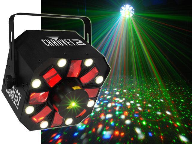 SWARM 5 FX / Световые эффекты для дискотек и клубов, Музыкальный Мастер