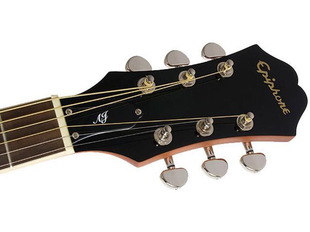 AJ-220SCE EB акустическая гитара с пъезодатчиком / Акустические гитары, Музыкальный Мастер