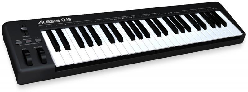 Q 49 MIDI клавиатура / Миди клавиатуры и контроллеры, Музыкальный Мастер