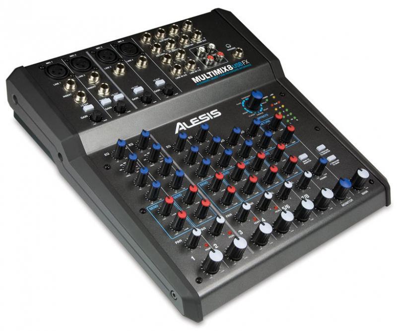 MULTIMIX 8 USB FX / Аналоговые микшерные пульты, Музыкальный Мастер