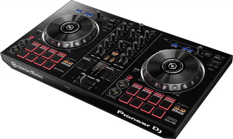 DDJ RB Потративный двухканальный DJ-контроллер со звуковой картой / DJ контроллеры, Музыкальный Мастер