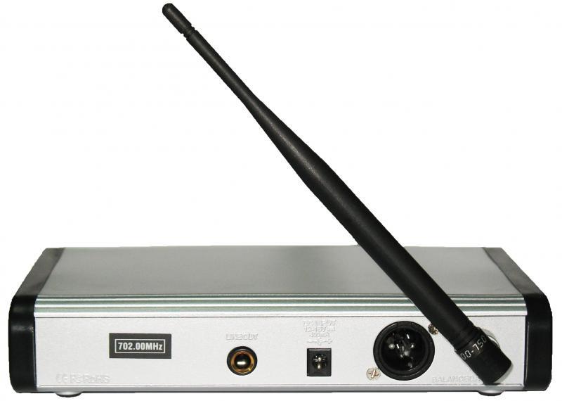 PGX-124 бюджетная одинарная высокочастотная UHF радиосистема / Микрофоны радио, Музыкальный Мастер